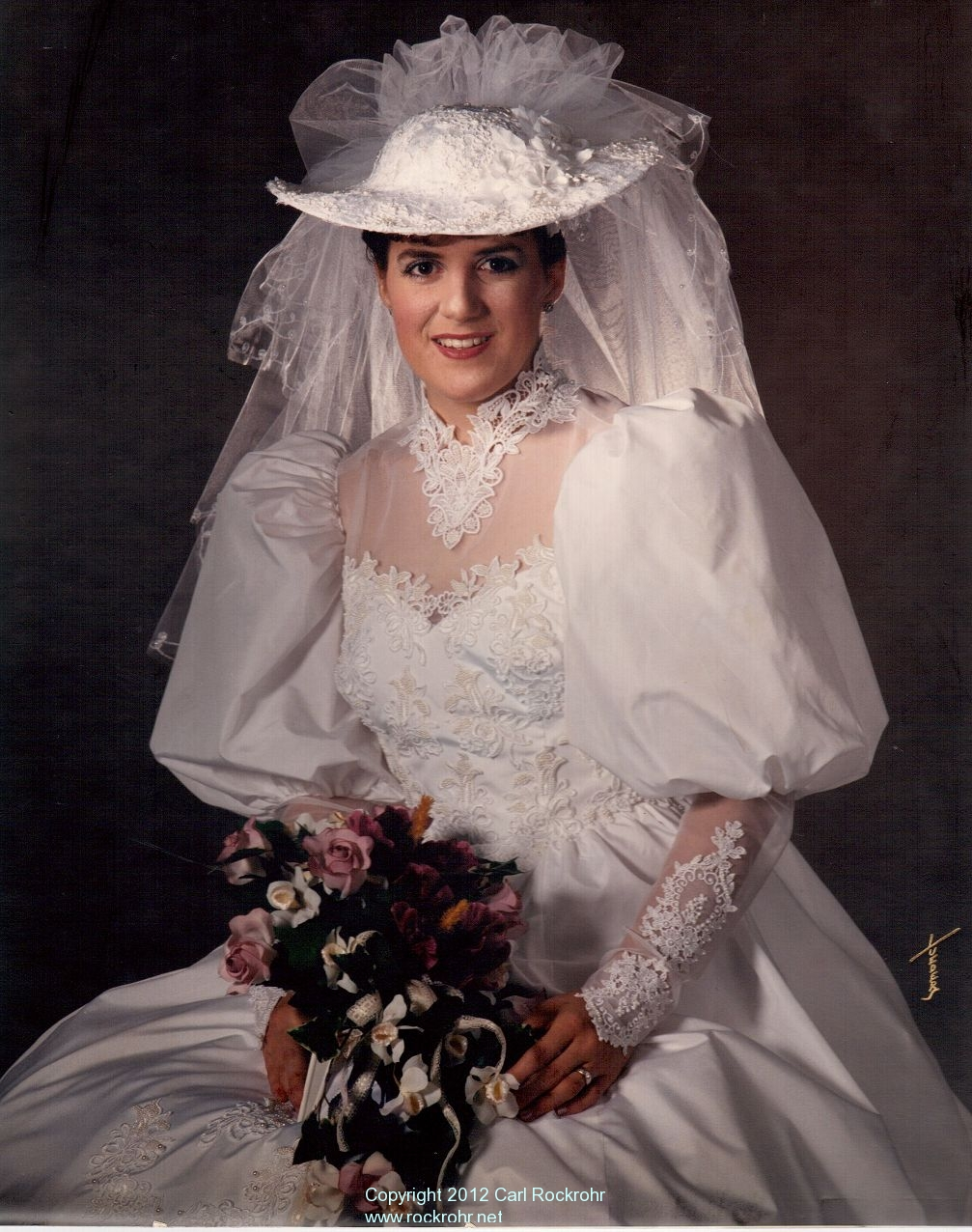 25 years of marriage blessed by our lord jesus rockrohr for Silver wedding dresses 25th anniversary