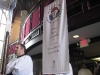 Processional Banner carried by Mark Harrison